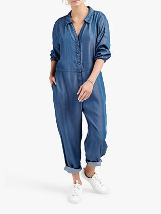NRBY Lucy Jumpsuit, Denim Blue