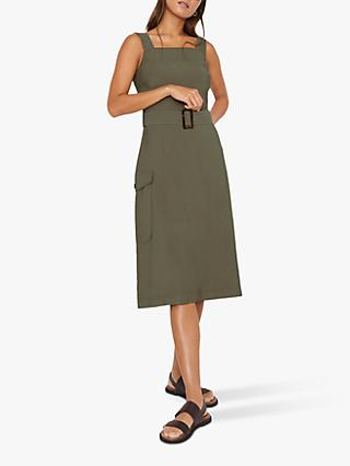 Warehouse Cargo Utility Dress, Khaki