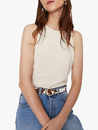 Warehouse High Neck Cami Top