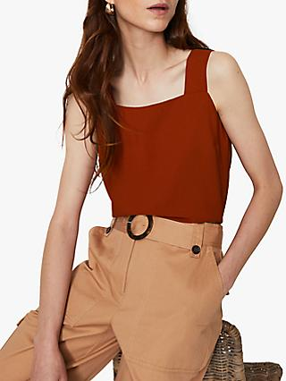 Warehouse Square Neck Shell Top