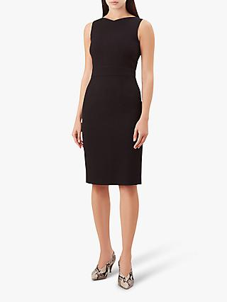 Hobbs Petite Anne Dress, Black