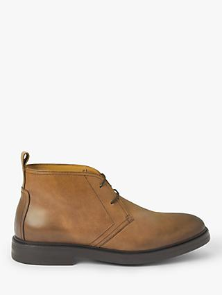 John Lewis & Partners Charlton Leather Chukka Boots