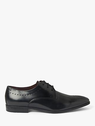 John Lewis & Partners Helsinki Italian Leather Brogues, Black