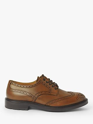 John Lewis & Partners Brooking Brogues, Tan