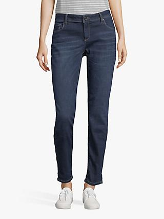 Betty & Co. Five Pocket Skinny Jeans, Dark Blue Denim