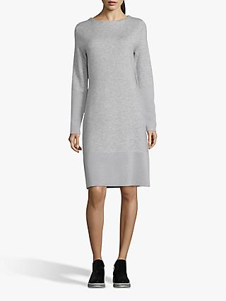 Betty & Co. Jersey Shift Dress, Light Silver Melange