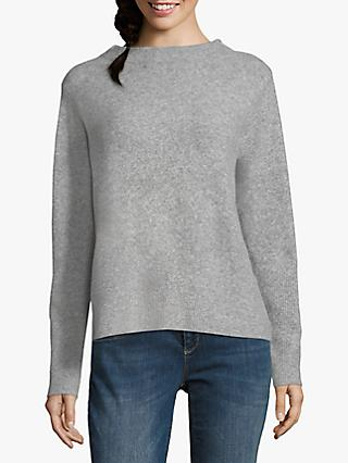 Betty & Co. Fine Knit Top, Silver Melange