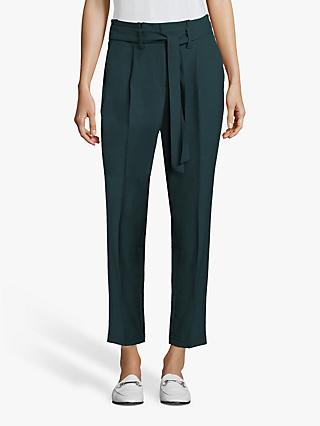 Betty & Co. Paperbag Trousers, Dark Pine