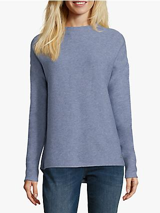Betty & Co Plain Knit Jumper, Water Blue