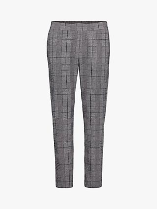 Betty & Co. Check Trousers, Black/White