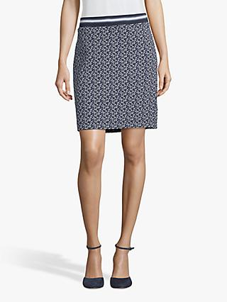 Betty Barclay Textured Pencil Skirt, Blue