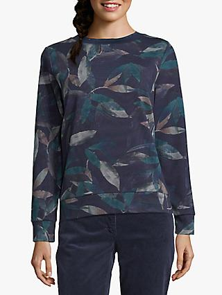 Betty & Co. Leaf Sweatshirt, Blue