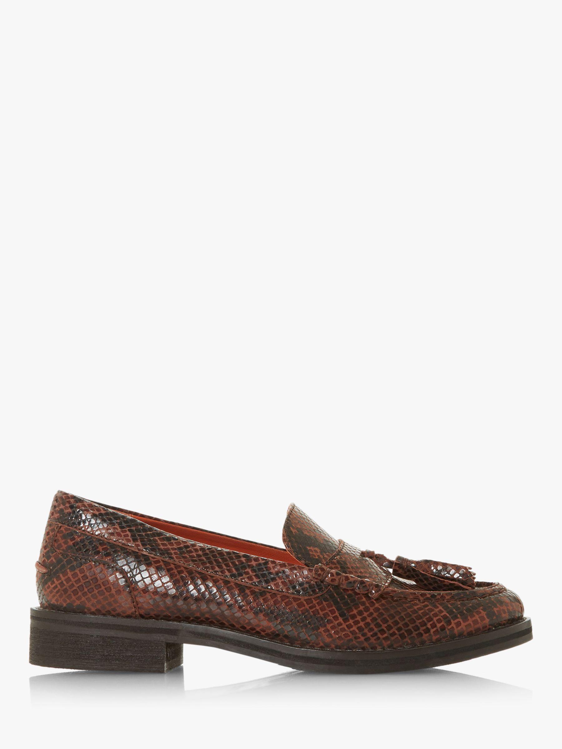 Bertie Bertie Giorgeo Leather Tasselled Loafers