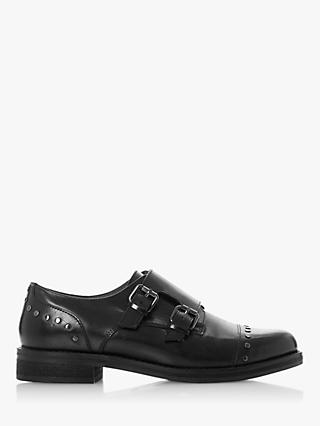 Bertie Gini Leather Double Buckle Brogues