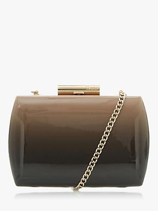Dune Balayage Patent Ombre Clutch Bag