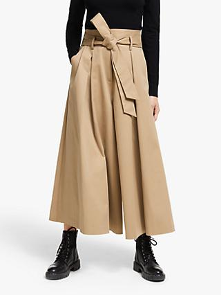 Somerset by Alice Temperley High Waist Culottes, Camel