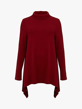 Phase Eight Shari Snuggle Top, Bordeaux Red