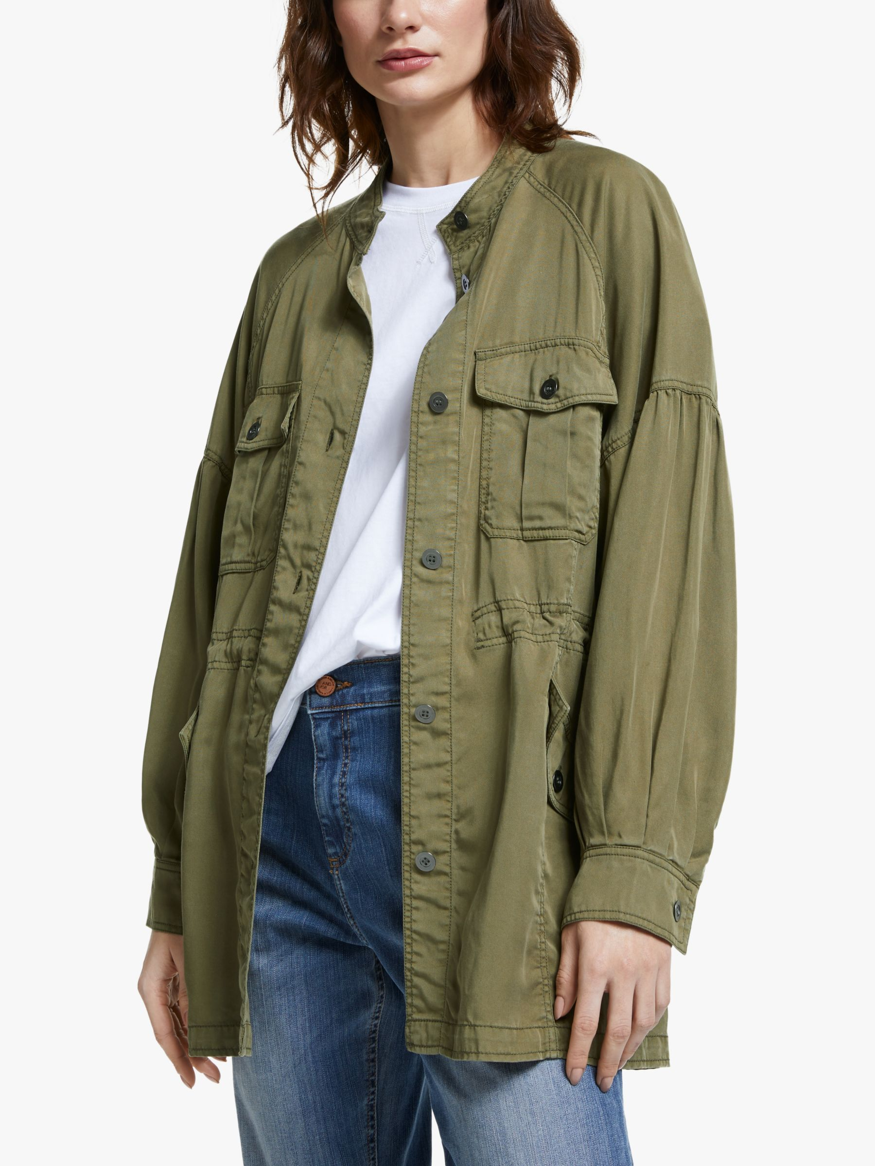 AND/OR AND/OR Belvis Utility Jacket, Khaki