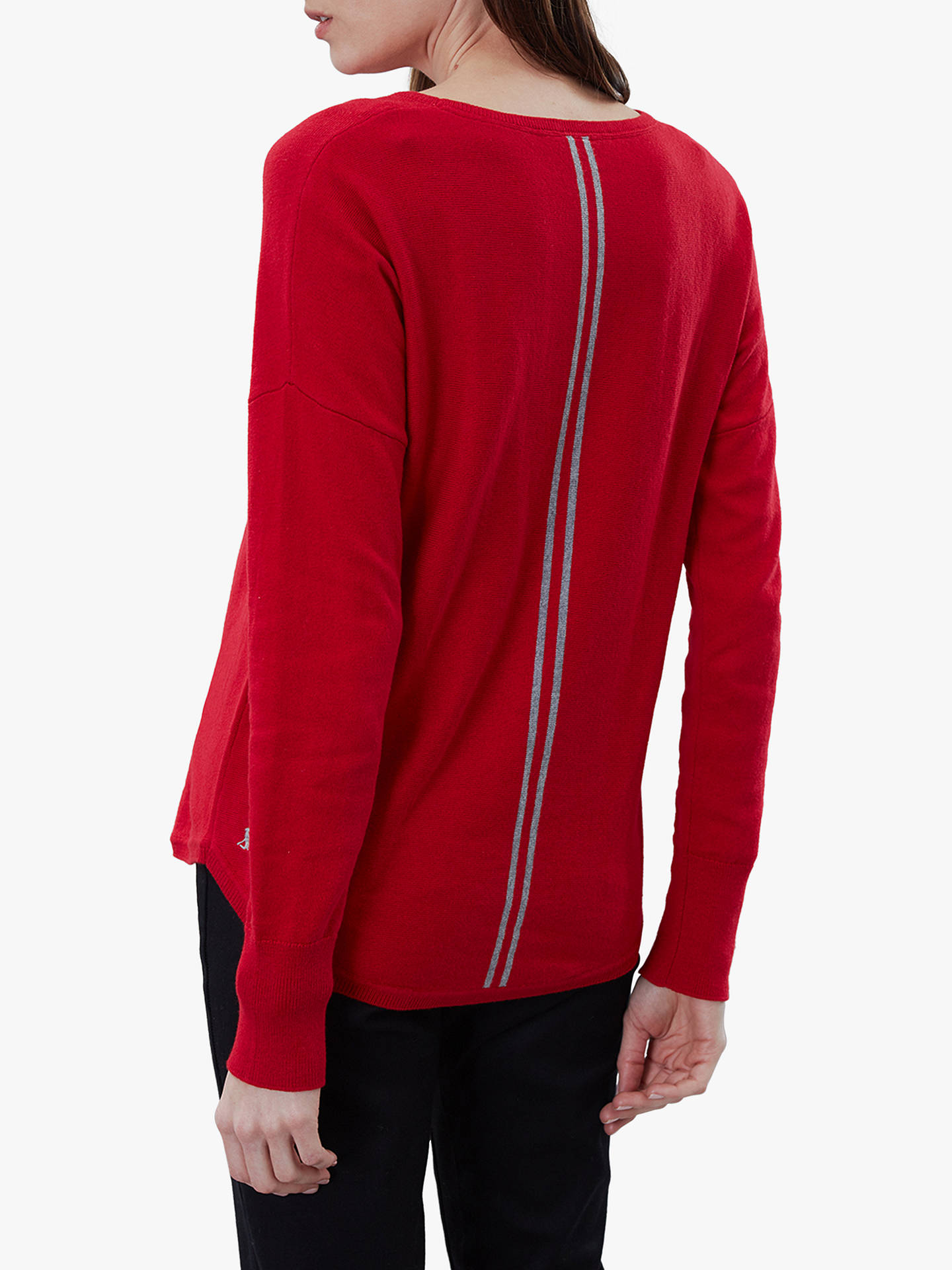 Buy Joules Poppy Cotton Round Neck Jumper, Red, 14 Online at johnlewis.com