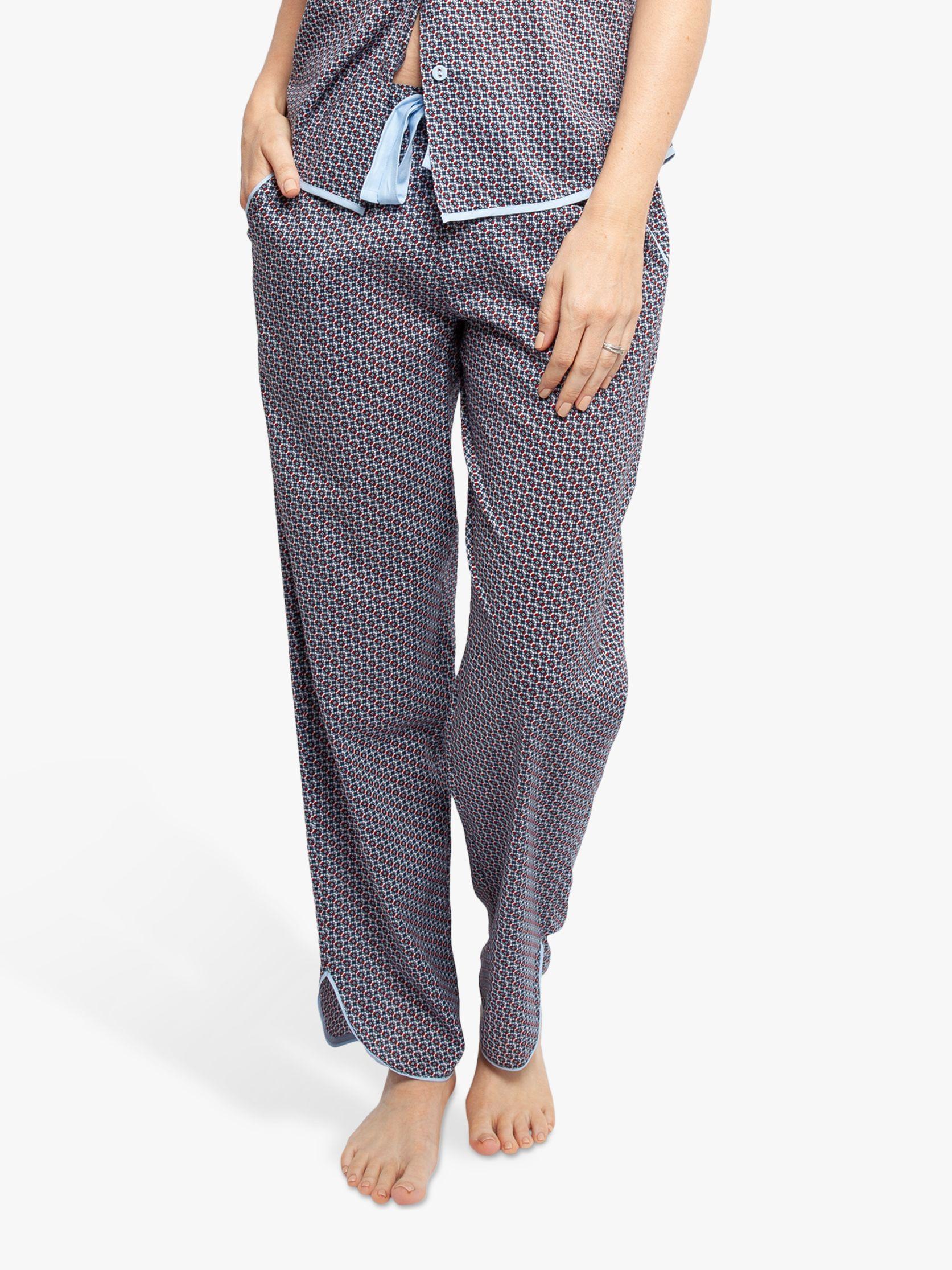 Cyberjammies Cyberjammies Olivia Geo Print Pyjama Bottoms, Grey