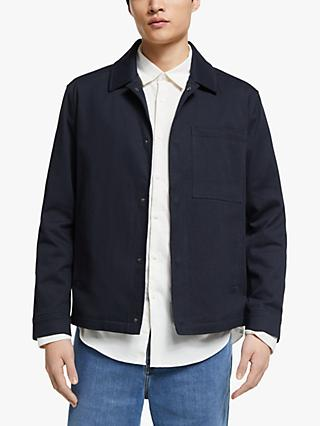 Kin Cotton Twill Jacket, Navy