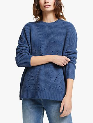 AND/OR Stacey Textured Knit Jumper