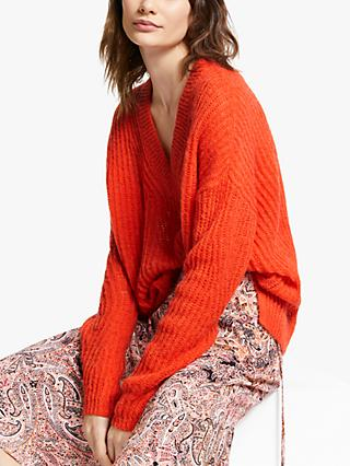 AND/OR Bryony Textured Knit Jumper