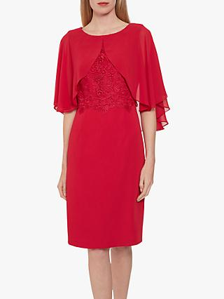 Gina Bacconi Lienna Dress with Cape