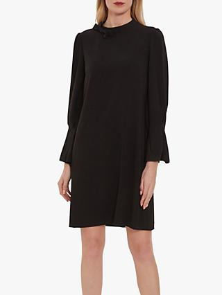 Gina Bacconi Kat Crepe Dress, Black