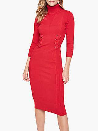 Damsel in a Dress Anabel Knitted Dress, Red