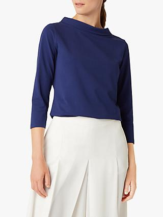 Hobbs Audrey T-Shirt, French Navy