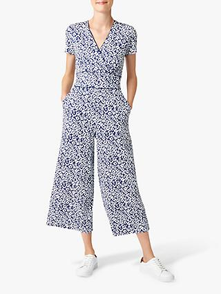 Hobbs Darcie Jumpsuit, French Blue/White