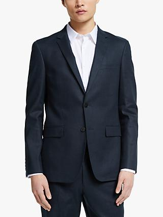 Kin Linen Slim Fit Suit Jacket, Navy