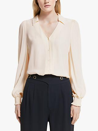 Somerset by Alice Temperley Smock Dobby Blouse, White