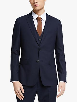 Kin Bengaline Wool Slim Fit Suit Jacket, Navy