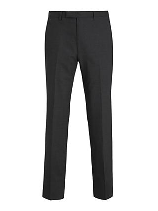 Kin Bengaline Wool Slim Fit Suit Trousers, Charcoal