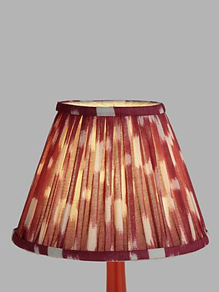 John Lewis & Partners Arrayan Pleated Lampshade