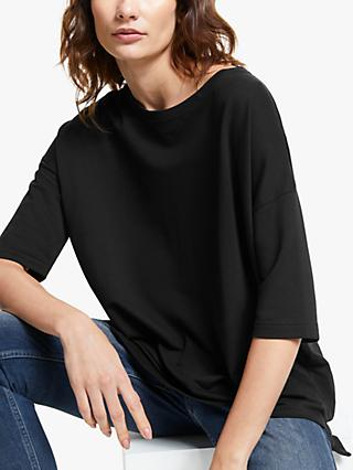 AND/OR Grace Sweat Top, Black