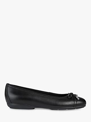 Geox Women's Annytah Leather Pumps, Black
