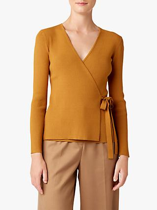 Hobbs Isabelle Knitted Jumper, Honey Gold