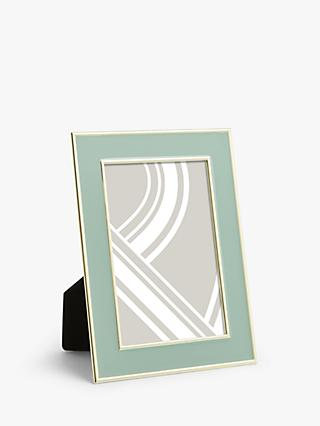 John Lewis & Partners Enamel & Metallic Edge Photo Frame