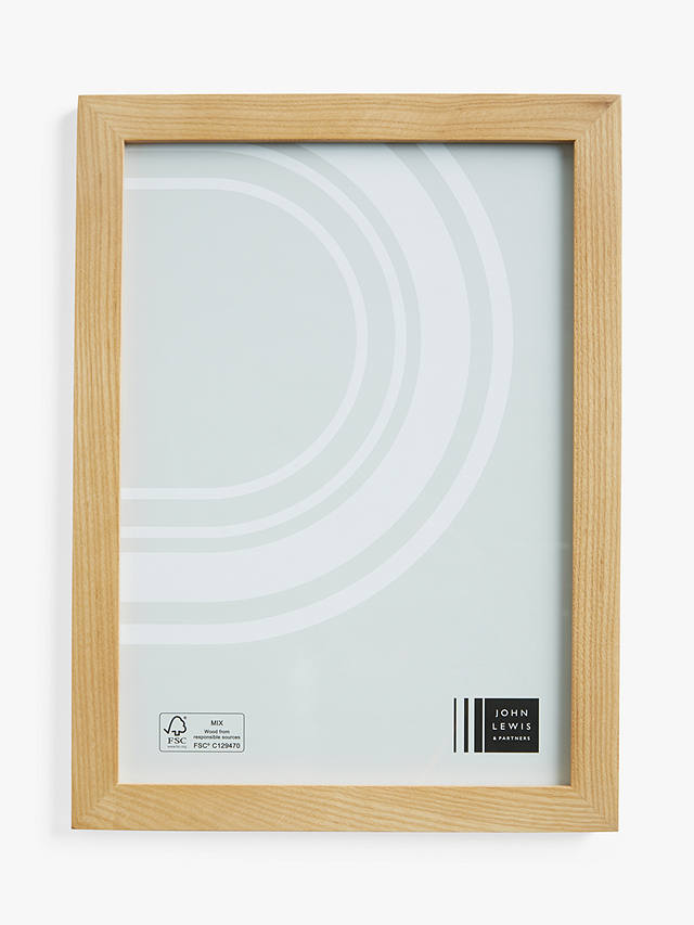 Buy John Lewis & Partners Grove Ash Wood Poster Frame, Natural, A4 (21 x 30cm) Online at johnlewis.com