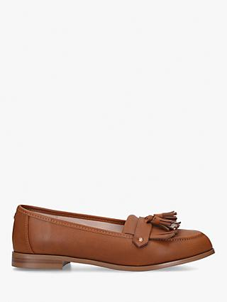 Carvela Magpie Tassel Loafers, Tan