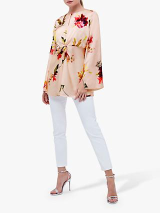 Coast Floral Knot Top, Multi