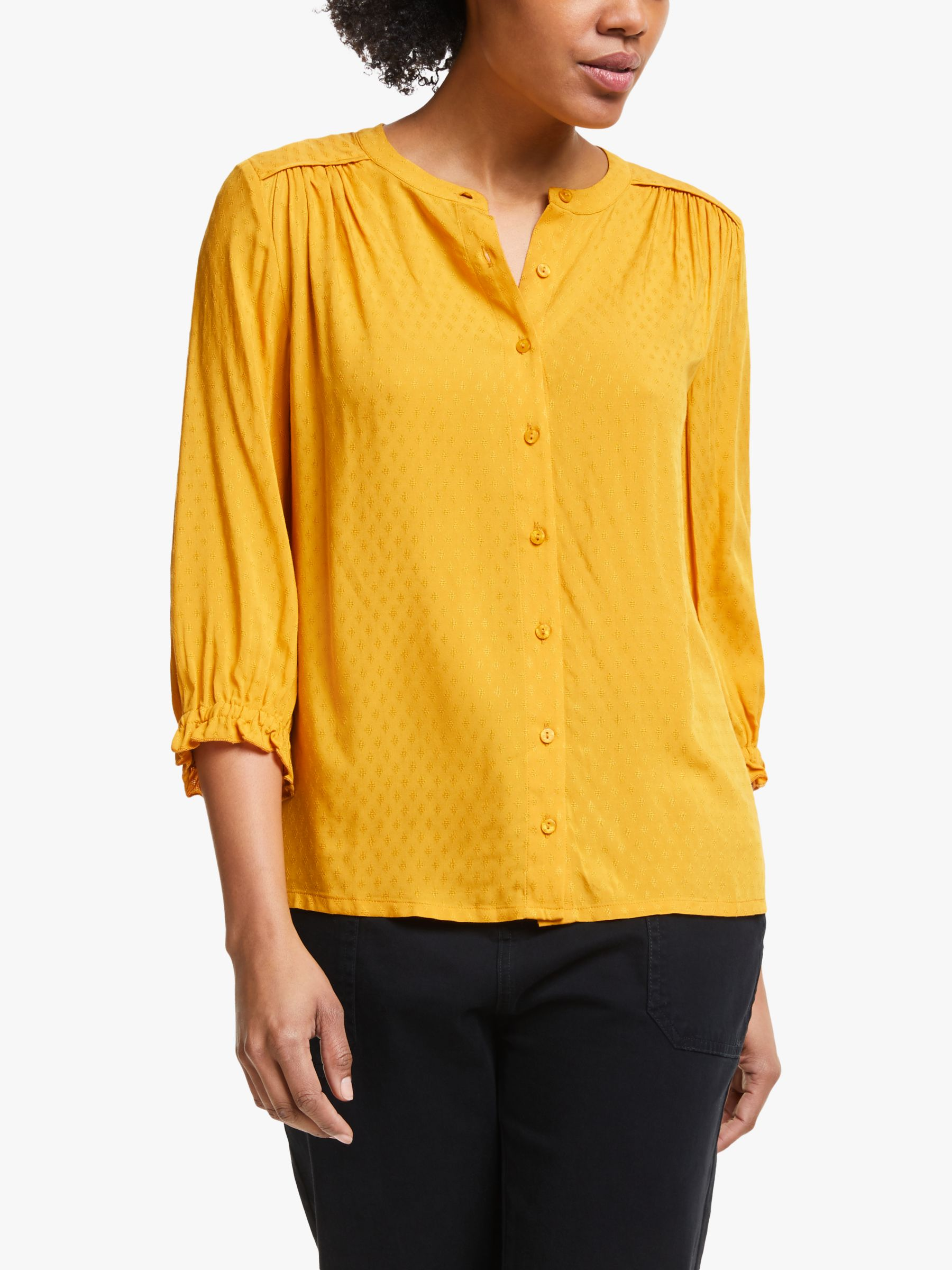 Collection WEEKEND by John Lewis Collection WEEKEND by John Lewis Dobby Half Sleeve Shirt