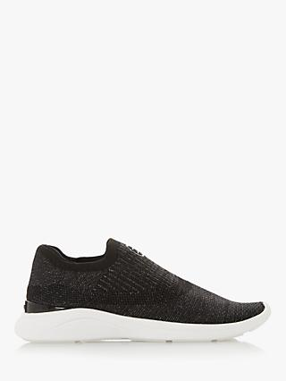 Dune Easy Slip On Knitted Trainers