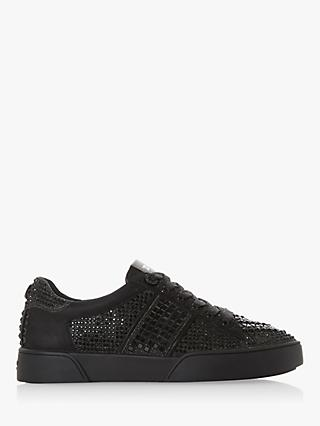Dune Elsie Embellished Lace Up Trainers