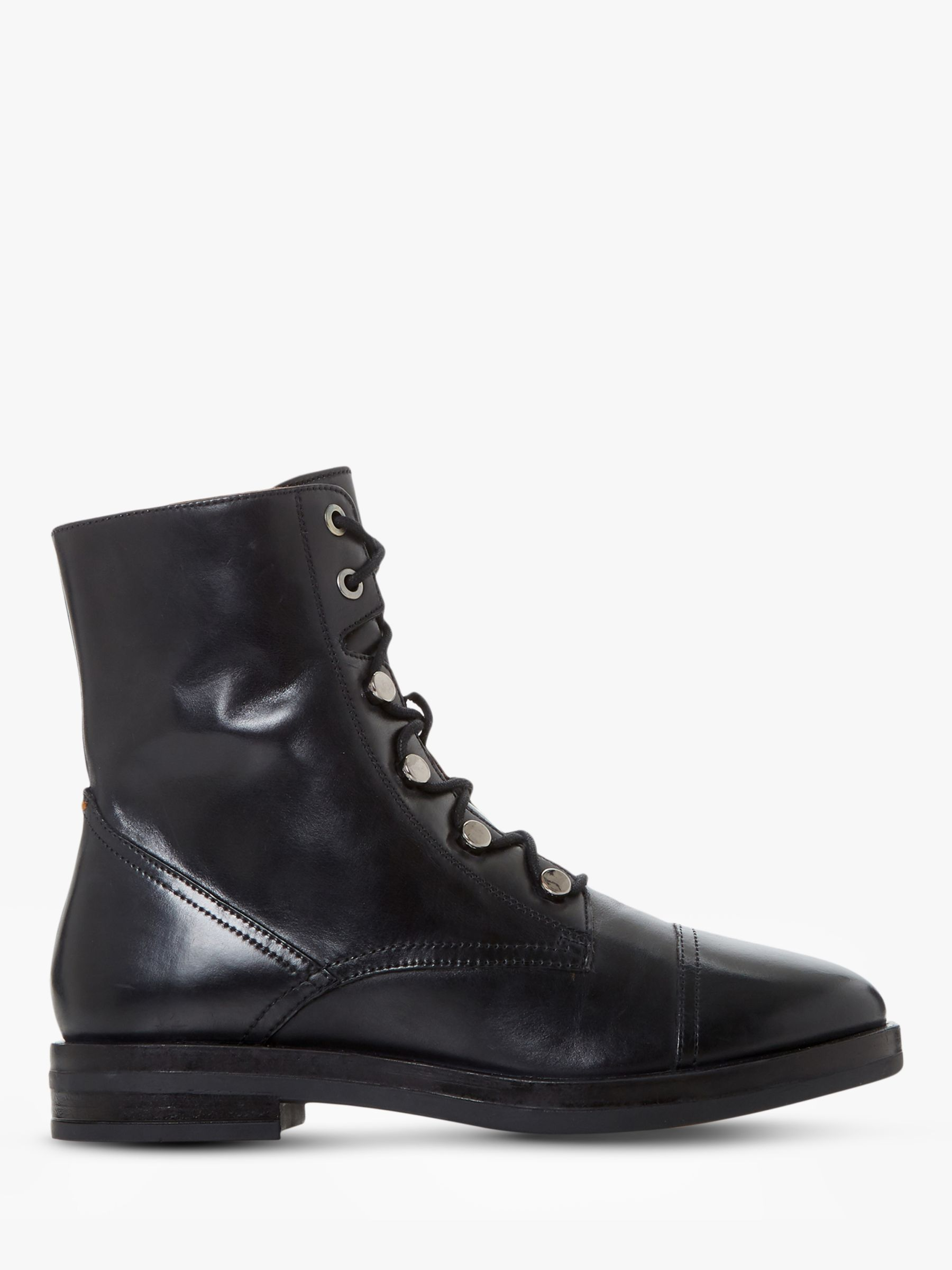Bertie Bertie Peplume Leather Ranger Ankle Boots