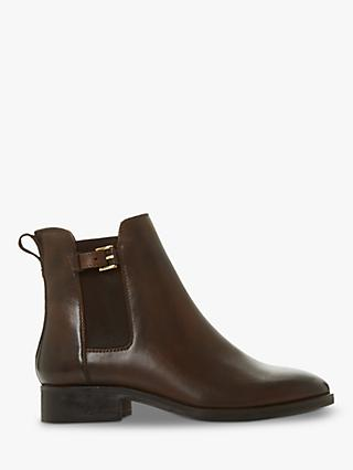 Dune Porrtia Leather Ankle Boots