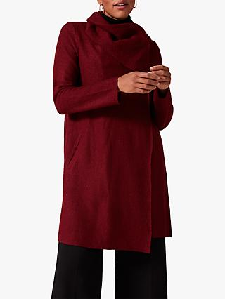Phase Eight Bellona Level Hem Coat, Spice